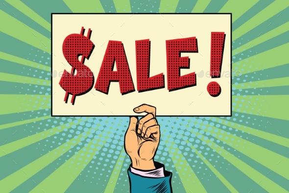 Hand Sale Billboard - Concepts Business