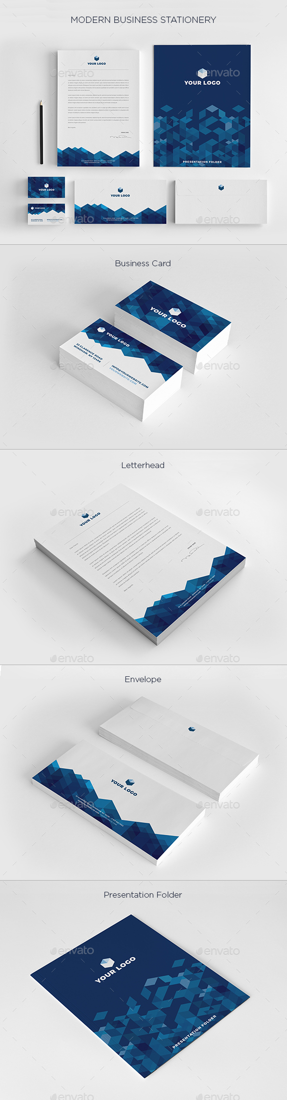 Modern Business Stationery - Stationery Print Templates