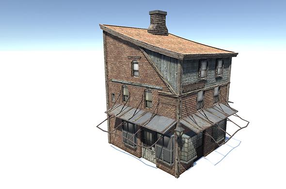 Corner House - 3DOcean Item for Sale