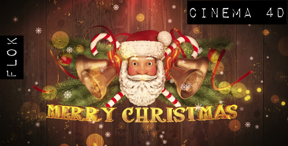Santa claus greetings cinema4d by flok videohive play preview video m4hsunfo