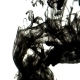 Black Inks in Water - VideoHive Item for Sale