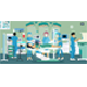 Doctors and Nurses Treating a Patient - GraphicRiver Item for Sale