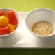 Ingredients for Pumpkin Salad, Tomatoes, Pumpkin, Sesame. Pumpkin Is Beautifully Laid Out on a - VideoHive Item for Sale
