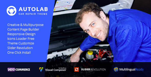 AutoLab & Car Mechanic WP - Auto Repair, Mechanic Workshops, Car Mechanic Service Repair