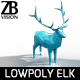 Lowpoly Elk - 3DOcean Item for Sale