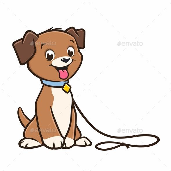 Cartoon Dog Puppy - Animals Characters