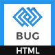 Bug - App Landing Page - ThemeForest Item for Sale