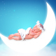 Angel Sleeping - VideoHive Item for Sale