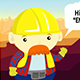Construction Company Profile Cartoon Animated - VideoHive Item for Sale