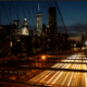 New York City Sunset From The Brooklyn Bridge - VideoHive Item for Sale