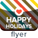 Happy Holidays Flyer - GraphicRiver Item for Sale