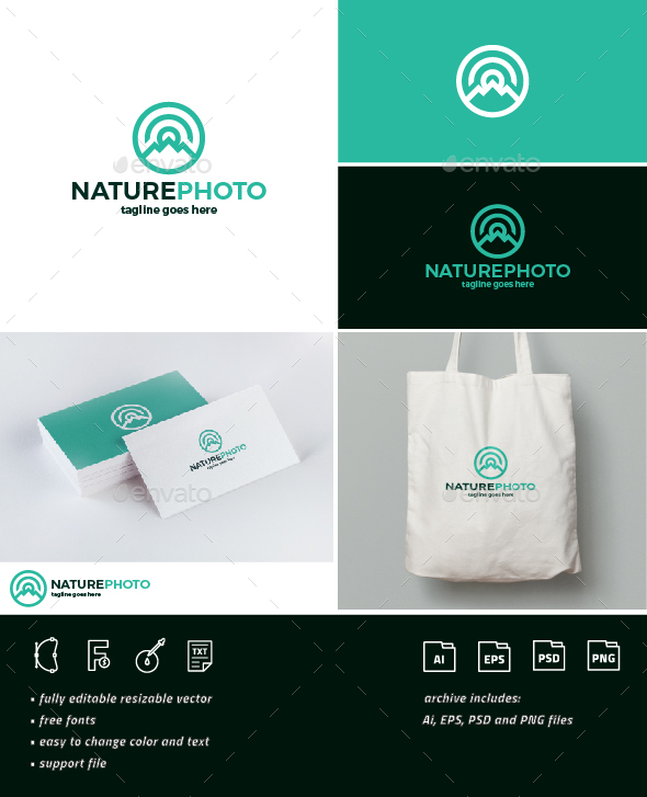 Nature Photo Logo - Nature Logo Templates