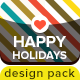 Happy Holidays Pack - GraphicRiver Item for Sale
