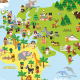 Cartoon World Map - GraphicRiver Item for Sale