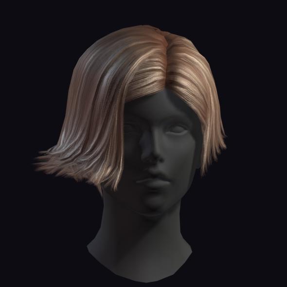 Hair 7 - 3DOcean Item for Sale
