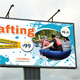 Rafting Outdoor Banner