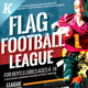 Flag Football Flyer Templates - GraphicRiver Item for Sale