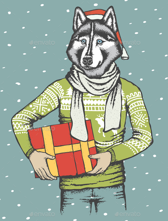 Husky - Christmas Seasons/Holidays