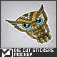 Die Cut Stickers Mock-Up - GraphicRiver Item for Sale