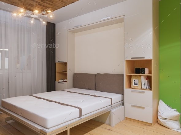 3d Illustration of Interior Design Livingroom - Architecture 3D Renders