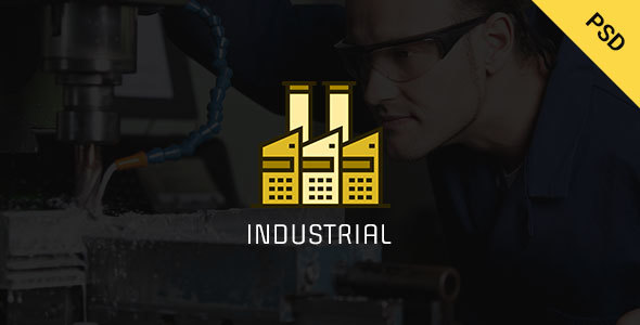 Industrial – Industry  & Business PSD  Template