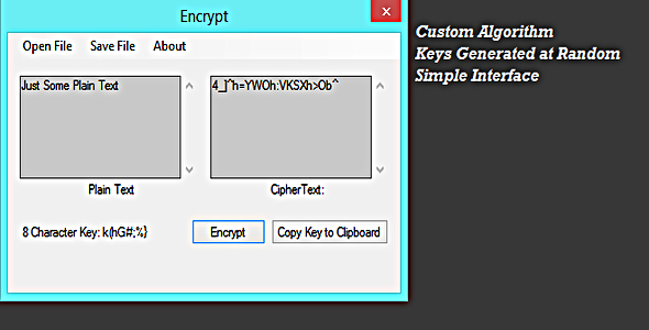 Text Encrypter - CodeCanyon Item for Sale