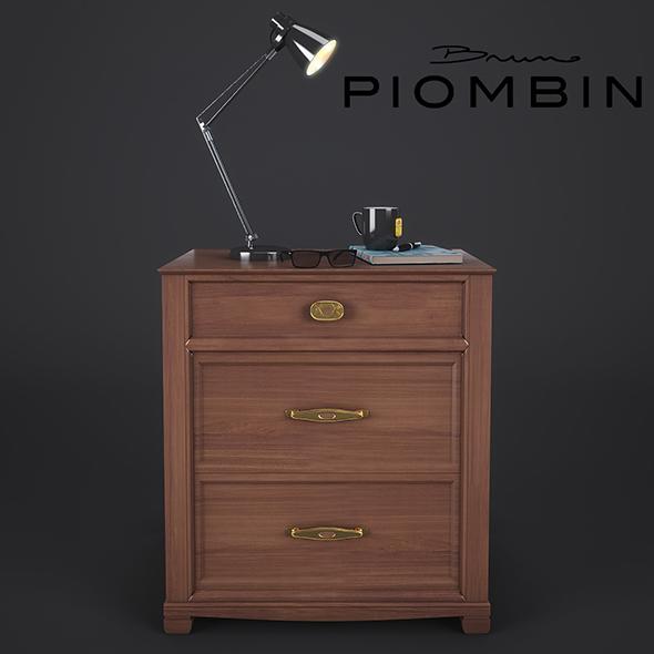 NightStand Bruno Piombini - 3DOcean Item for Sale