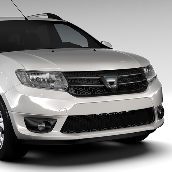 Dacia Logan MCV Fiskal 2016 - 3DOcean Item for Sale