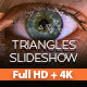 Triangles Slideshow - VideoHive Item for Sale