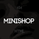 Minishop - Multipurpose, Minimal, e-Commerce, Marketplace Template - ThemeForest Item for Sale