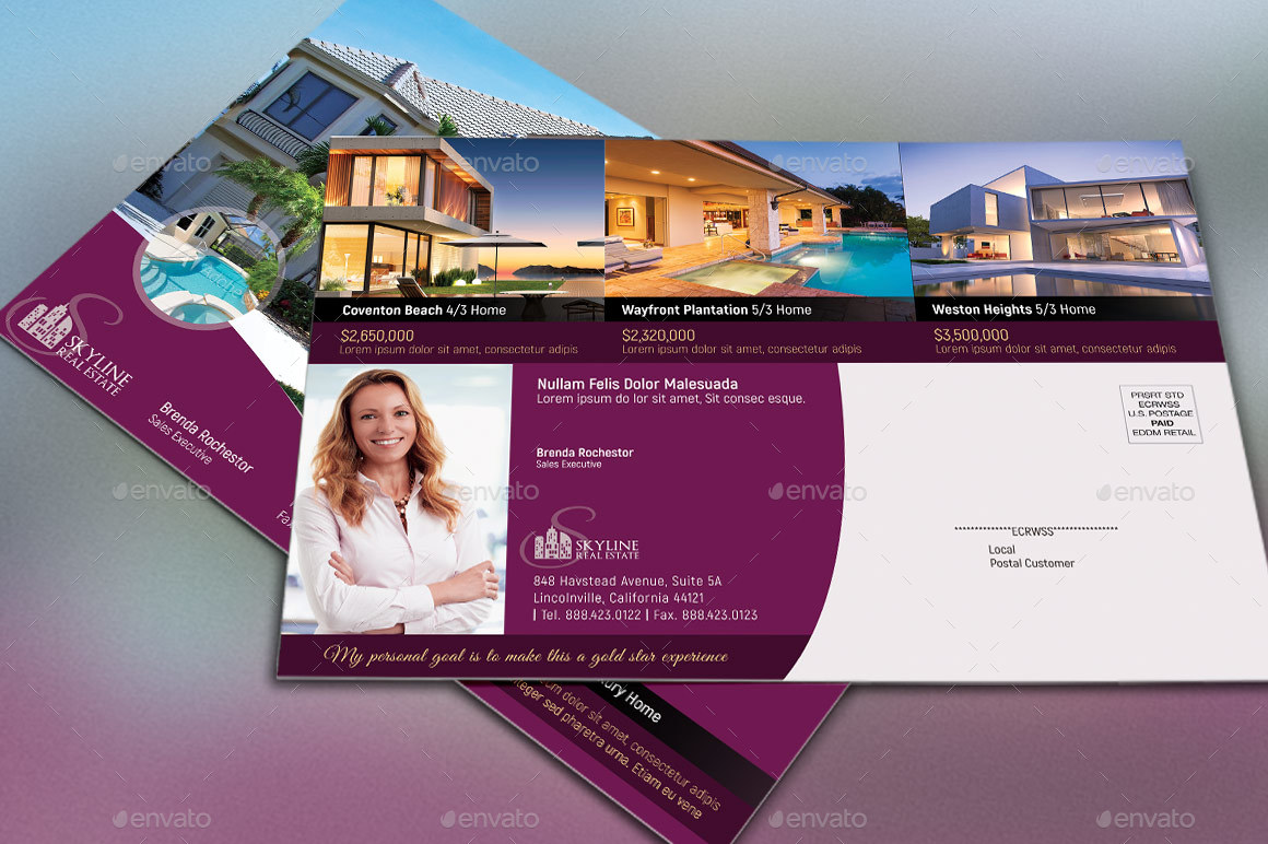 real estate eddm flyer template by godserv2