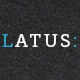 Latus - one page portfolio psd template - ThemeForest Item for Sale