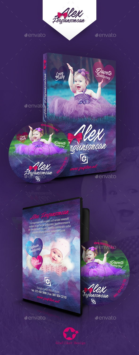 Baby Event Dvd Cover Templates - CD & DVD Artwork Print Templates