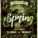 Spring Equinox Flyer Template V1 - GraphicRiver Item for Sale
