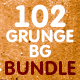 102 Modern Grunge Backgrounds - Bundle