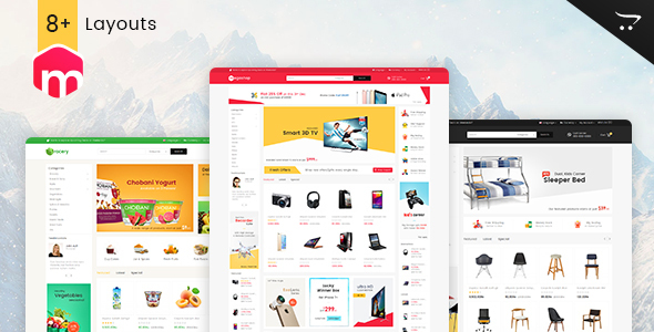 Mega Shop - Opencart Multi Purpose Responsive Theme