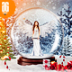 Snow Globe Photo Template - GraphicRiver Item for Sale