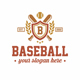 Baseball Crest Logo Template - GraphicRiver Item for Sale
