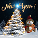 New Year Snowman 1 - VideoHive Item for Sale