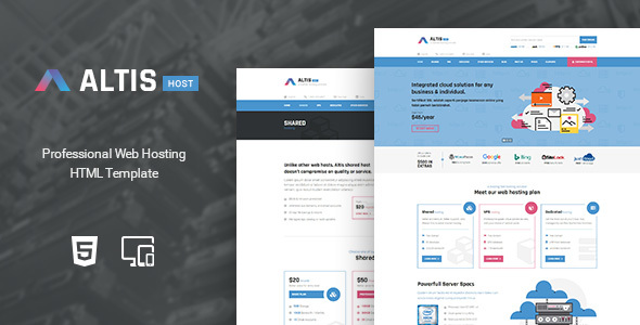 Altis - Professional Hosting HTML Template