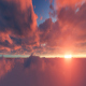 Timelapse Sunset Clouds - VideoHive Item for Sale