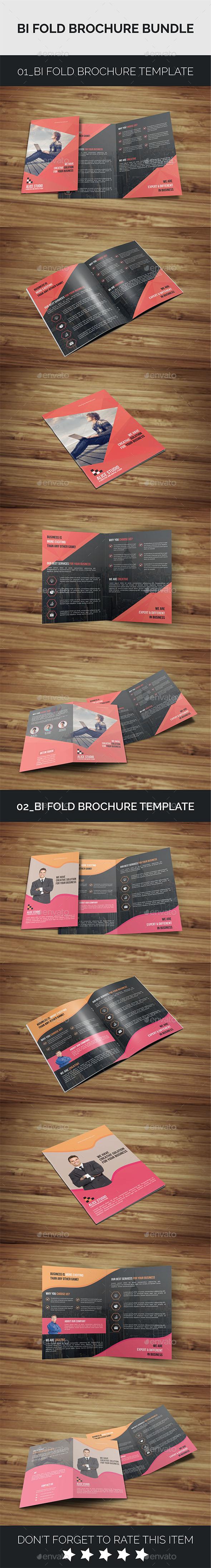 Bi-Fold Bundle 2in1 - Corporate Brochures