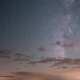 Milky Way and Cloudy Skies - VideoHive Item for Sale