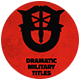 Dramatic Military Titles - VideoHive Item for Sale
