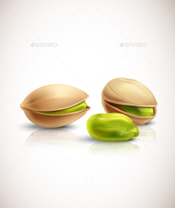 Pistachios - Food Objects