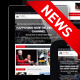 24h News - Broadcast News TV Channel and News Magazine Template Nulled
