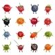 Funny Berries Cartoon Characters