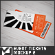 Event Tickets Mock-Up 2 - GraphicRiver Item for Sale