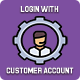Login with customer account - CodeCanyon Item for Sale
