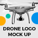 Drone Logo Mock-Up - Present Your Logo directly on the quadcopter - GraphicRiver Item for Sale